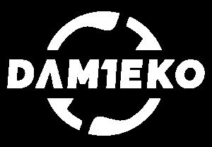 Logo společnosti na tmavé pozadí